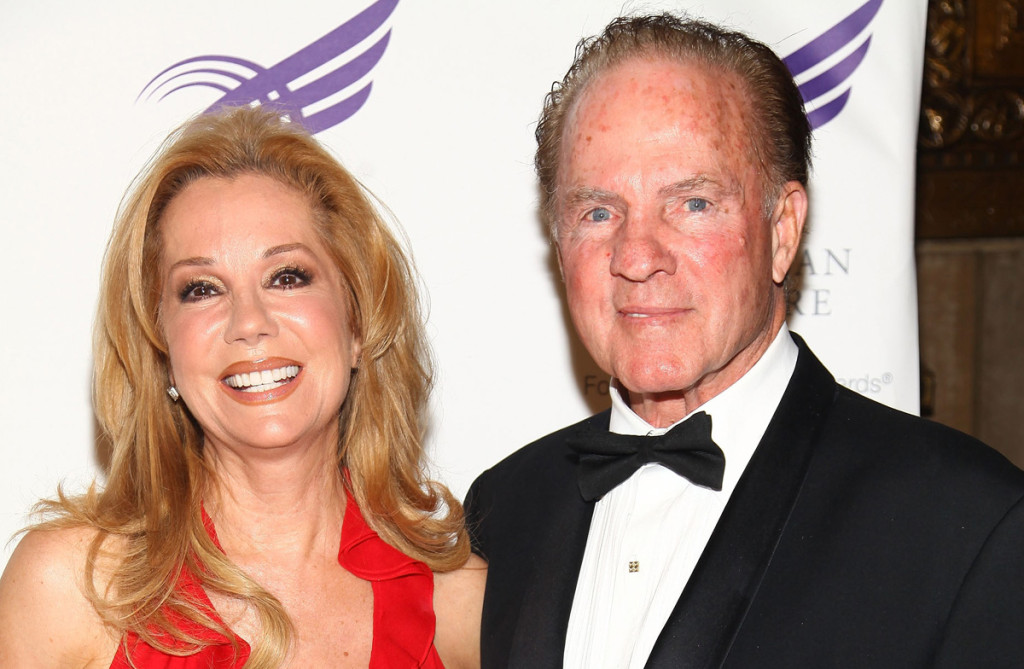 NEW YORK - JUNE 01: (L-R) Actress Kathie Lee Gifford and Frank Gifford attend the American Theatre Wing's 2009 Spring Gala at Cipriani 42nd Street on June 1, 2009 in New York City. (Photo by Astrid Stawiarz/Getty Images) *** Local Caption *** Kathie Lee Gifford;Frank Gifford