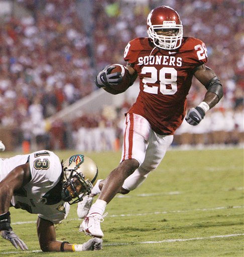 Greatest Sooner Running Backs, Number Three: Adrian ...